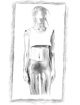 Yolandi Figure Print