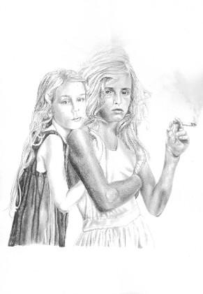 Joyce & Caroline Print